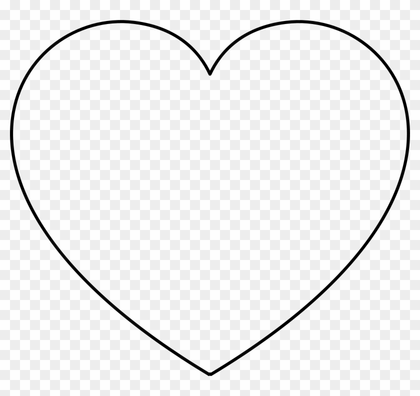 Heart With Transparent Background Clip Art At Clker - Heart Shape Clip Art #97056