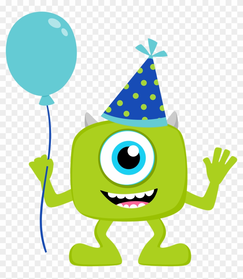 Baby Monsters Party Clipart - Monsters Inc Happy Birthday #97136