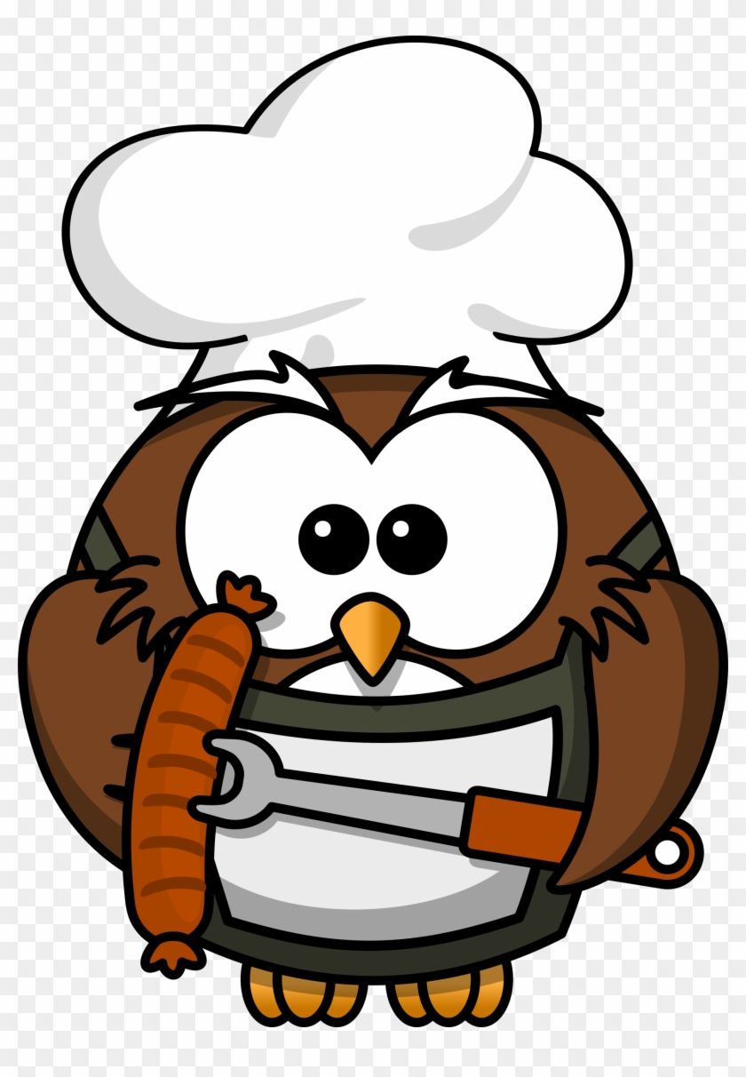 Grilling Gluten Free And Low Fodmap - Cartoon Owl #97168