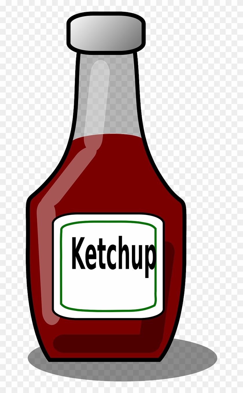 1) Tomato Sauce - Ketchup Clip Art #97190