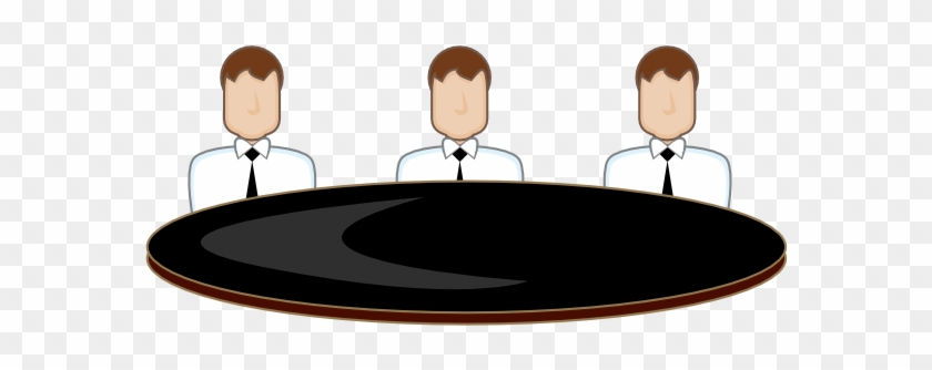 Meeting Clip Art At Clker - Round Table Discussion #97218