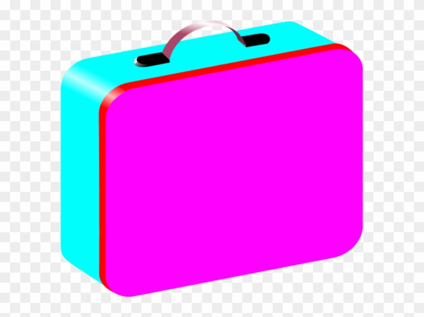 Lunch Box Clipart - Pink Lunch Box Clipart #97344