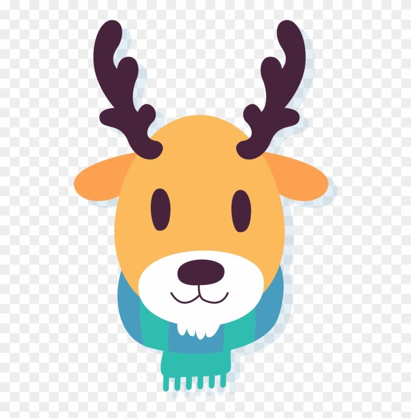 6 - Winter Animal Clip Art #97360