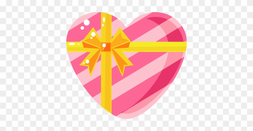 Fotor Christmas Clip Art - Heart Shaped Gifts Box Clipart #97361