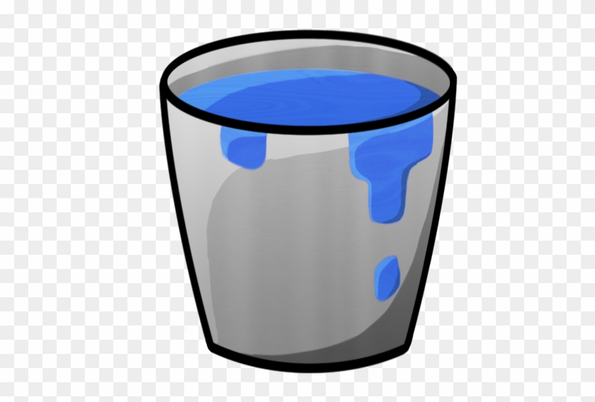 Picture Of Bucket Minecraft Bucket With Water Icon - Water Bucket Png #97451
