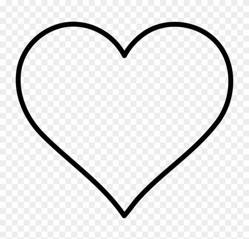 Lofty Design Heart Images Clip Art Clipart Outline - Heart Shape Vector Free #97485