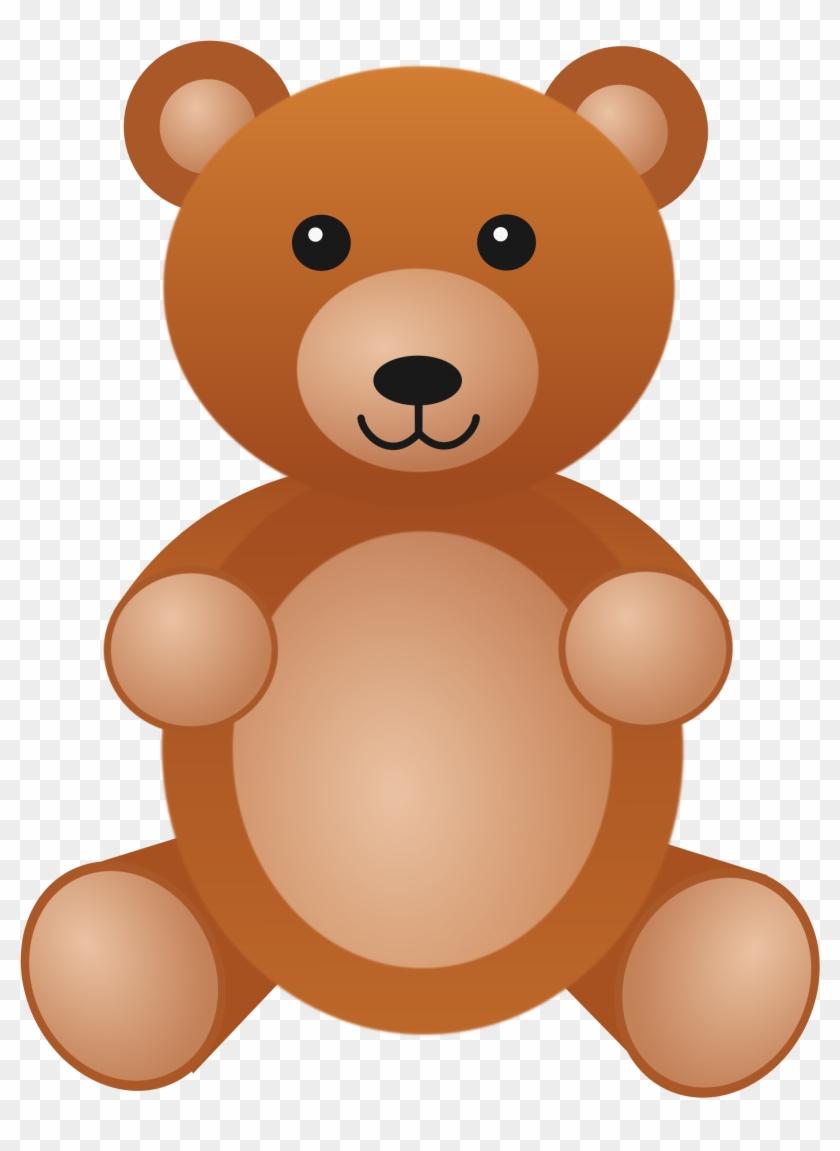 Teddy Baer Bear 555px - Teddy Bear Clip Part #97599