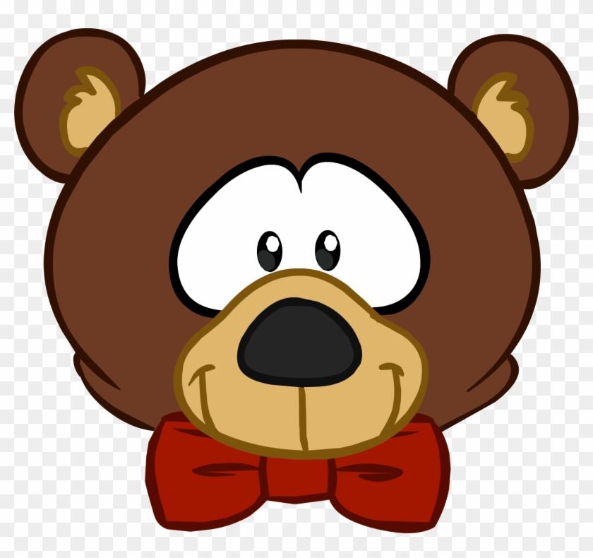 Teddy Bear Clipart Cute Bear Head - Teddy Bear Head Cartoon #97624