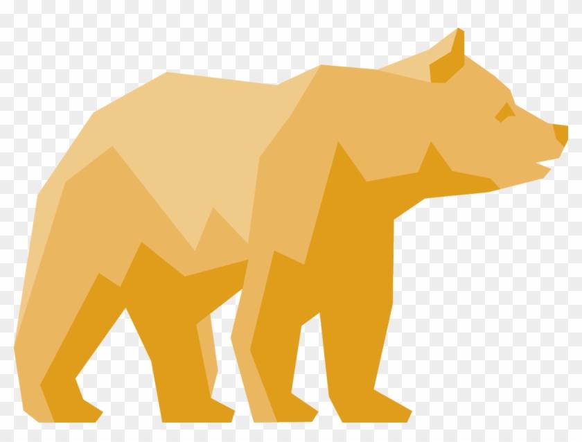 Bear Clipart Student - Uc Berkeley Golden Bear #97653