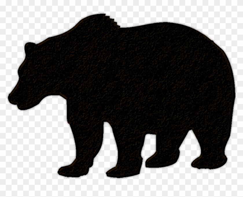 Bear Silhouette Clip Art Cliparts - Bear Silhouette No Background #97659