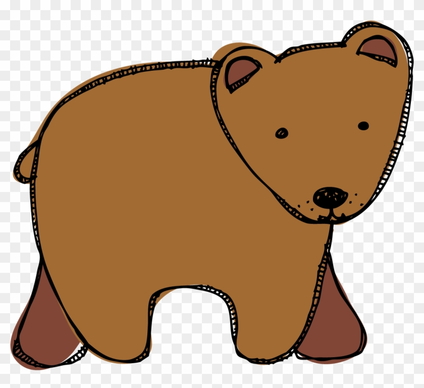 Brown Bear Clipart Book - Brown Bear Brown Bear Clipart #97675