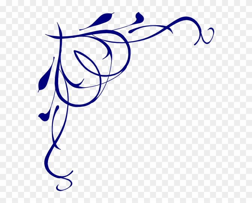 Heart Scroll Clip Art At - Swirls Png #97723