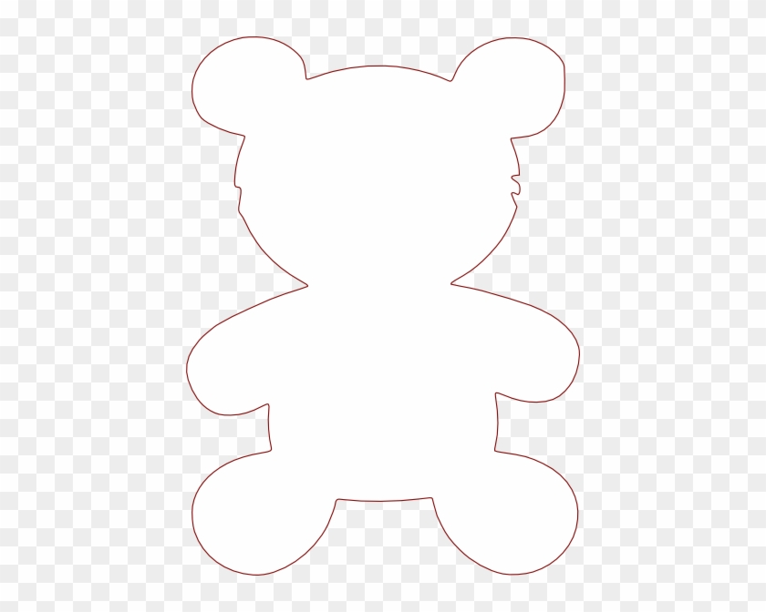 Siluet Teddy Bear #97742