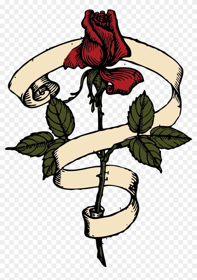 Big Image - Rose Scroll #97762