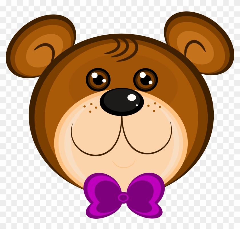 Net Clip Art Teddy Bear Scalable Vector Graphics - Baby Bear Face Clipart #97765