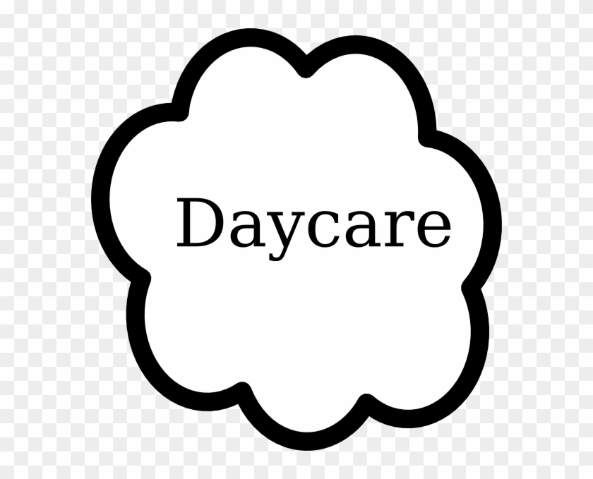 Daycare Clip Art At Clker - Day Care Black And White #97799