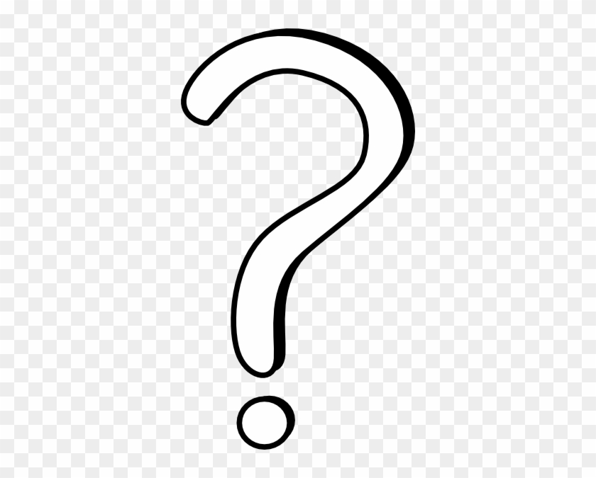 White Question Mark Clipart - White Question Mark Clip Art #97891