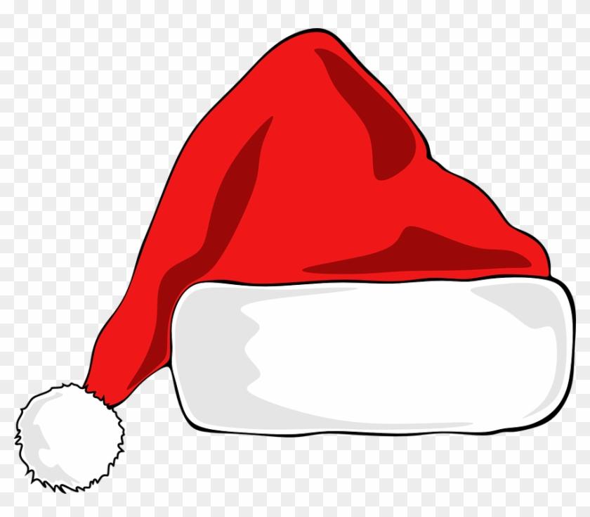Santa Hat Christmas Hat Santa Claus Red Design - Kerstmuts Png #97909