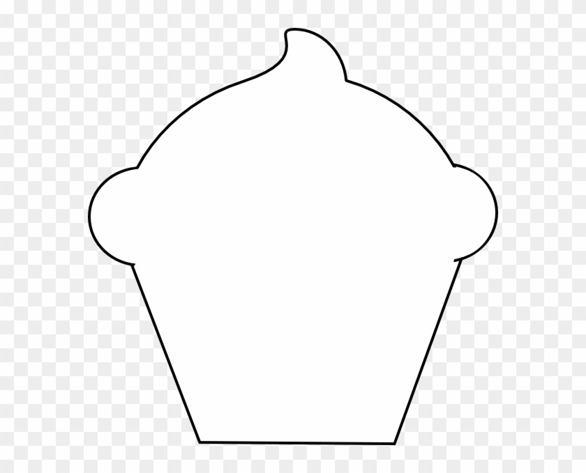 Cupcake Outline Clip Art Pictures Jabn9t Clipart - 41st Degree Software #97935