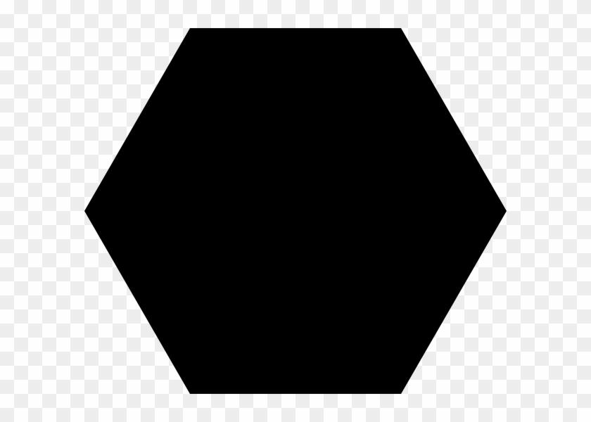 Black Hexagon Clip Art At - World Government #97936