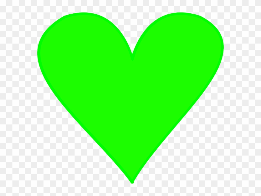 Green Heart No Background #97945