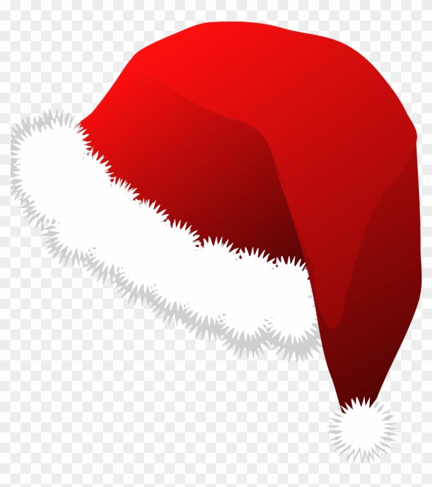 Santa Hat Clipart Clear - Santa Claus Hat Clipart #98006