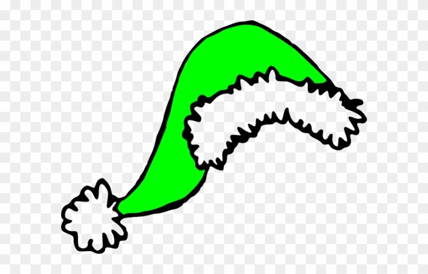 Green Santa Hat Clipart - Transparent Christmas Hats Cliparts #98012