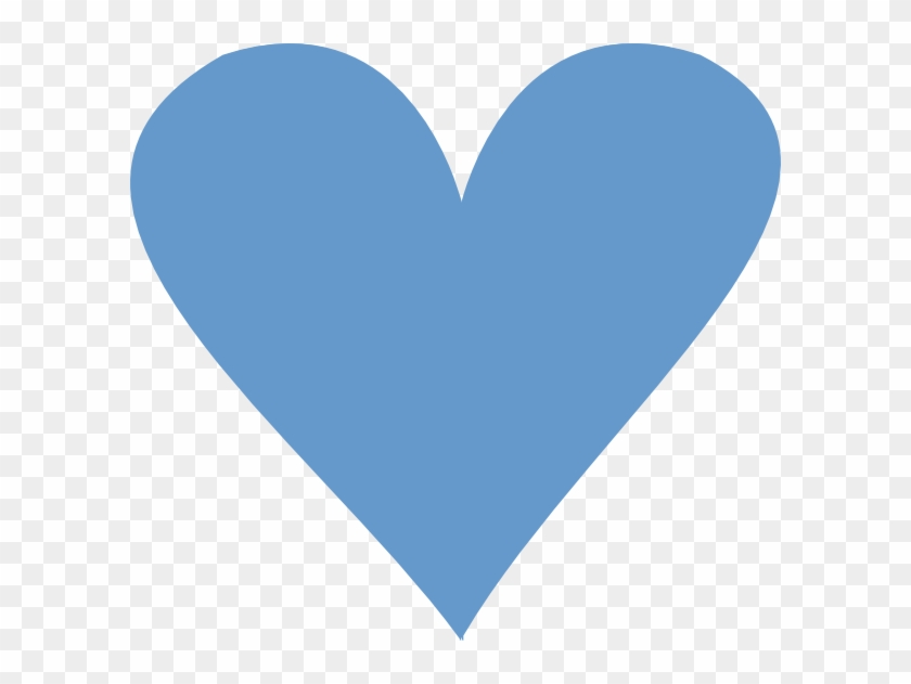Blue Heart Clip Art At Clker - Clip Art #98057