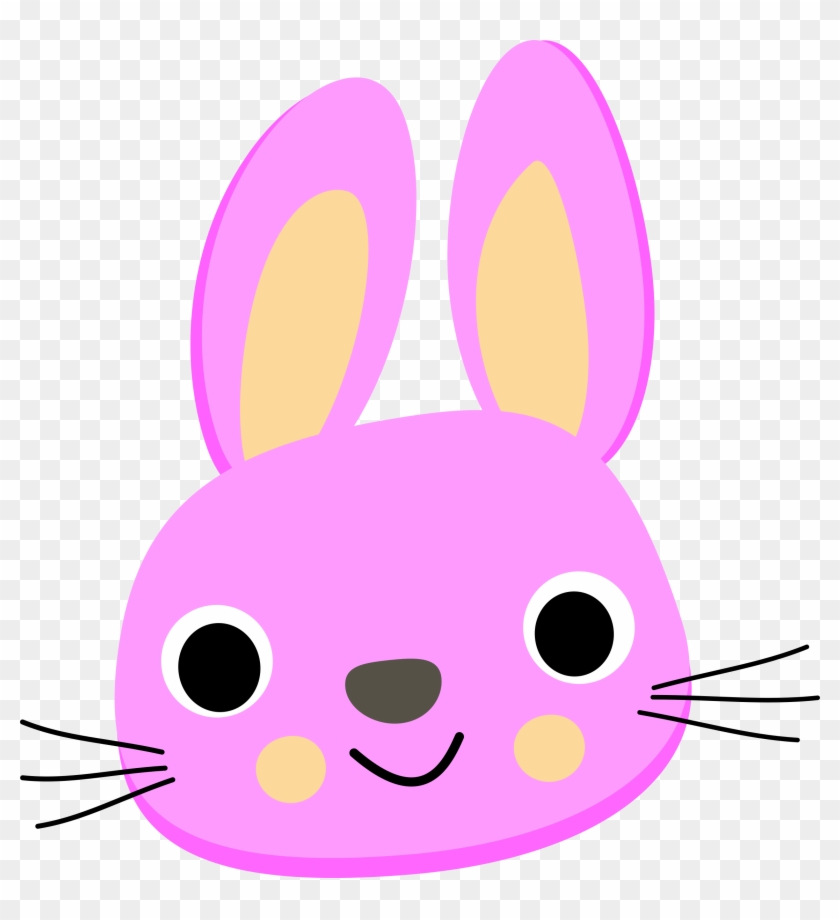 Pink Rabbit Cartoon #98140