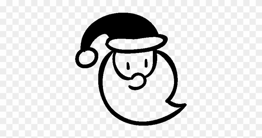 Santa Claus Face Vector - Logo Santa Claus #98139
