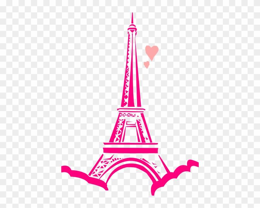 Love Paris Clip Art At Clker Com Vector Online Royalty - Eiffel Tower Clip Art #98141