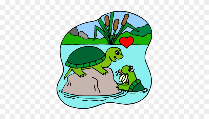 Tags - - Turtles In Love Coloring Pages - Free Transparent PNG ...