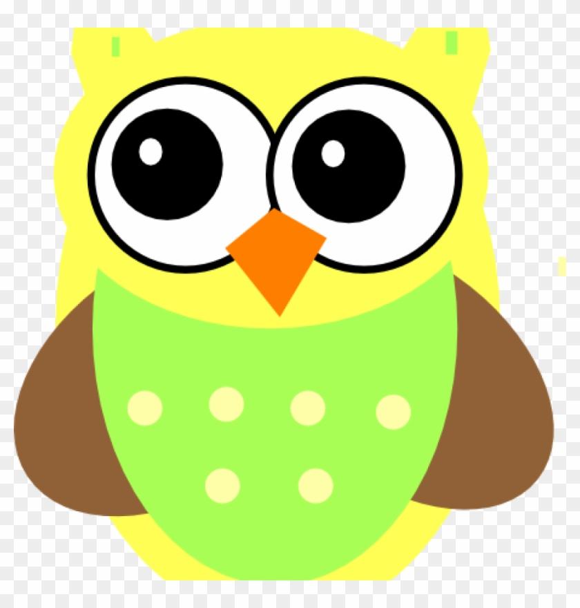 Baby Owl Clipart Yellow Ba Owl Clip Art At Clker Vector - Clip Art #98158