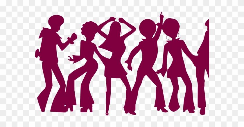 Cartoon People Dancing - People Dancing Clip Art #98260