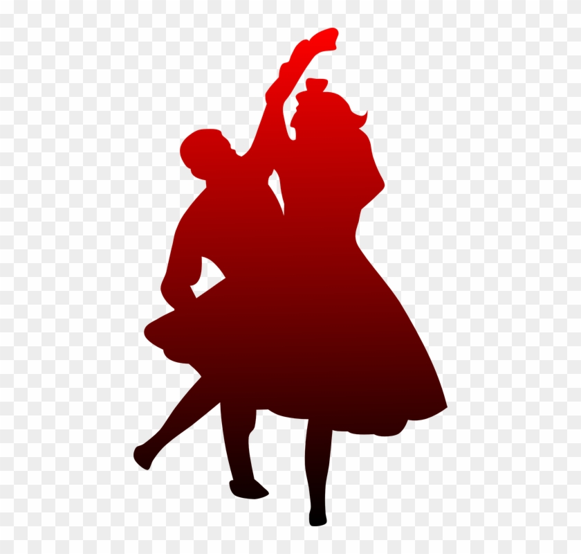 Dancing Dancers Red Black Dance Couple Activity - Happy Promise Day Pic Download #98270