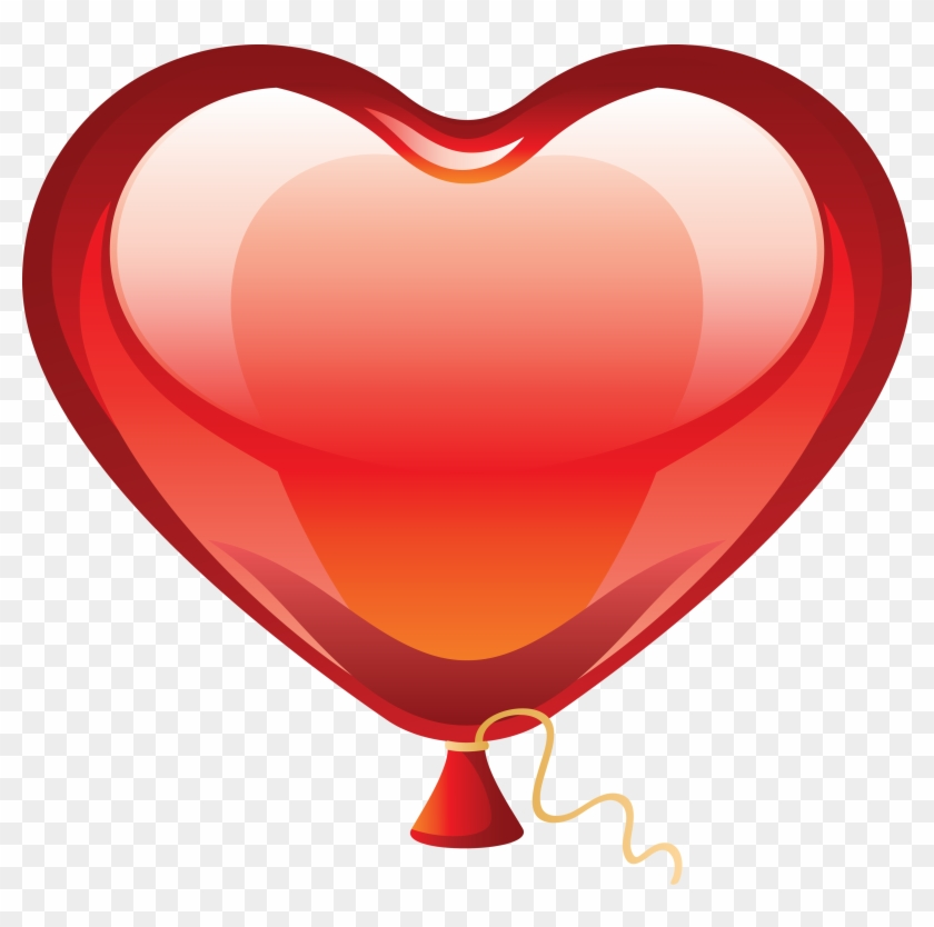 Balloon Glow Images - Heart Balloon Transparent Background #98285