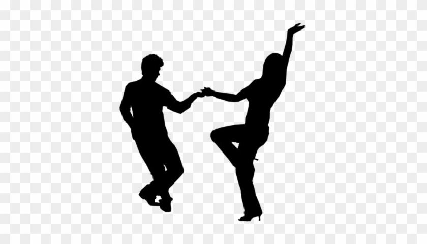 Picture Of People Dancing - Dancing Silhouette Png #98319