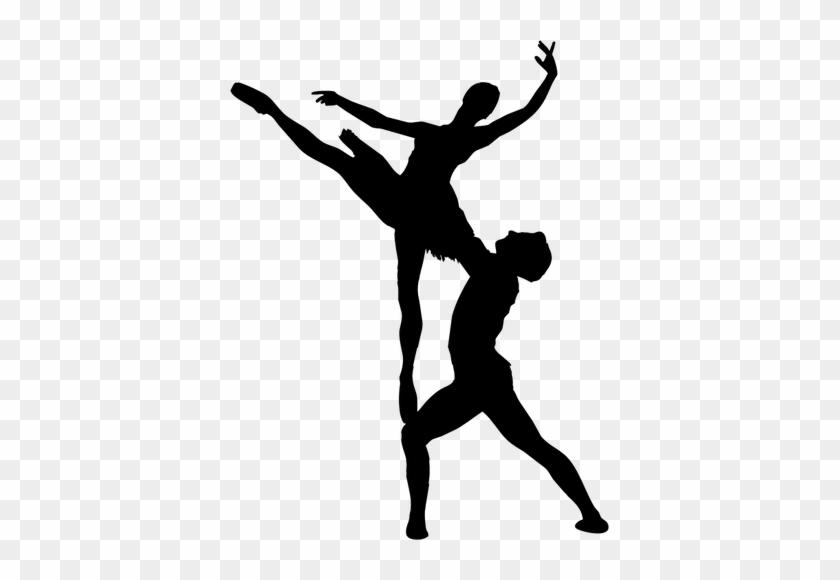 6360 Free Clipart Dancing Couple Silhouette Public - Ballet Png #98371