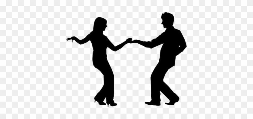 People Dancing - Clipart Library - People Dancing Silhouette #98392