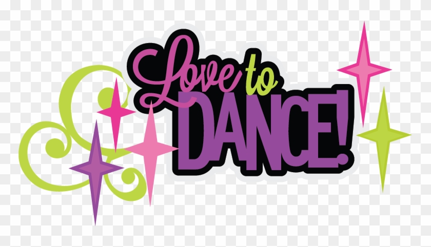 Love To Dance Clipart - Love To Dance Clip Art #98394
