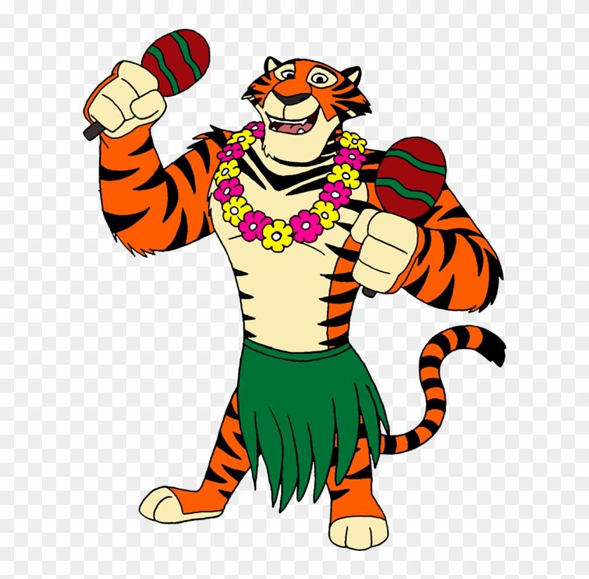Hula Melman By Lionkingrulez On Clipart Library - Hula Tiger #98432