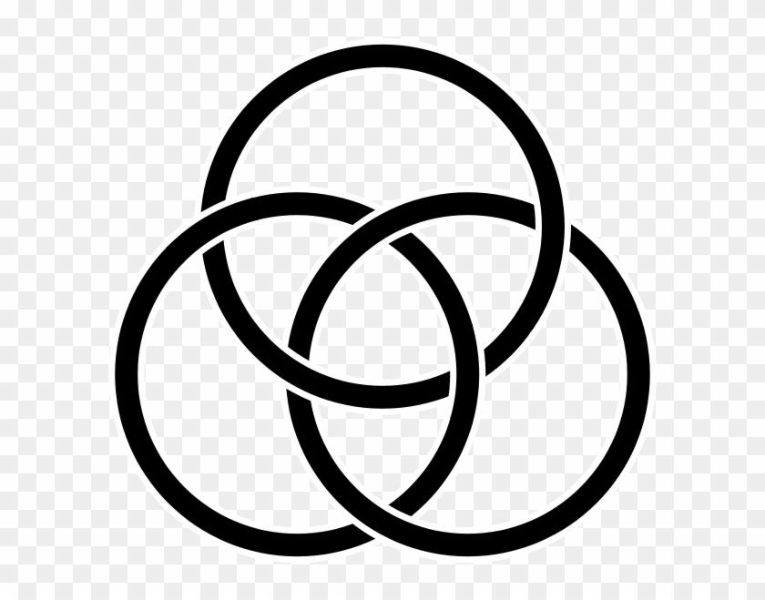 Borromean Rings Bw - Borromean Rings #98443
