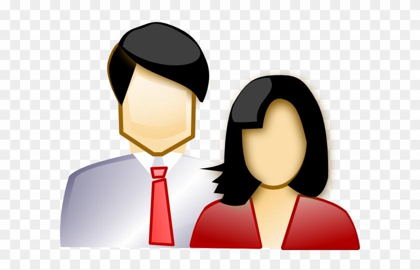 Parents Couple Clipart #98461