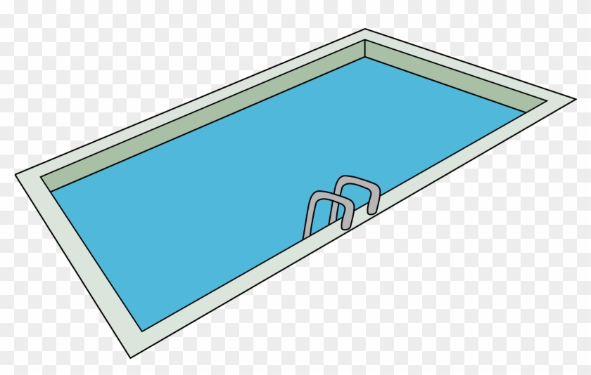 Pool Clipart - Draw A Swimming Pool #98488
