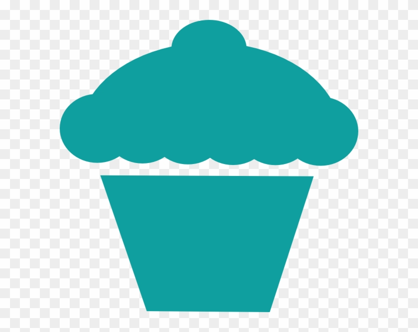 Cupcakes Clip Art - Cupcake Silhouette Vector Png #98545