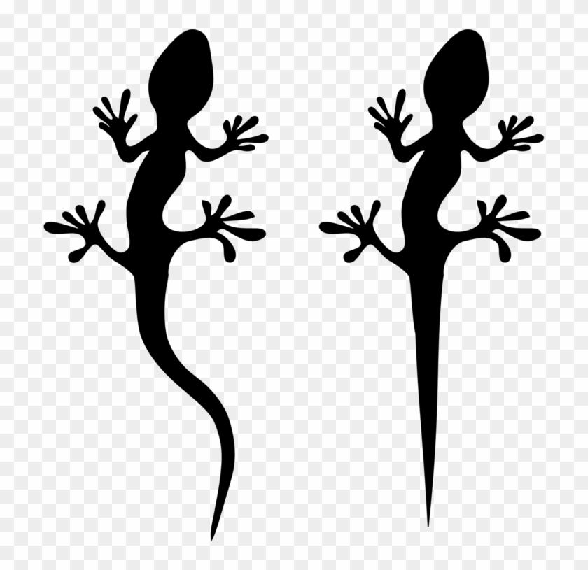 Lizard Clipart - Lizard Silhouette #98548