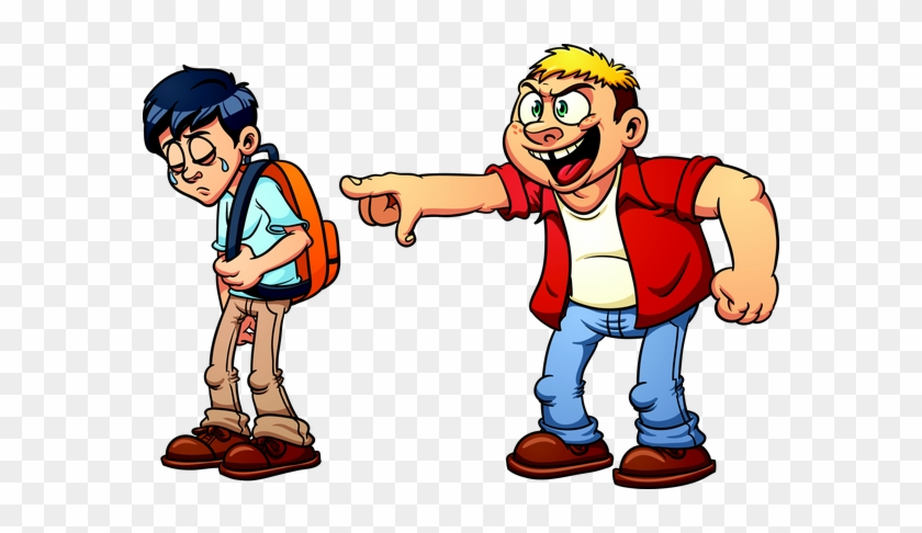 Bullying Clipart The Dirty Little Secret About Bullying - Boy Being Bullied Cartoon #98571