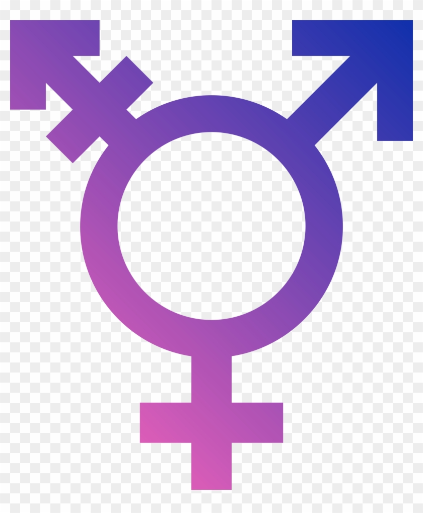 Transgender Pride Flag, Transgender Sign - Transgender Symbol Png #98596