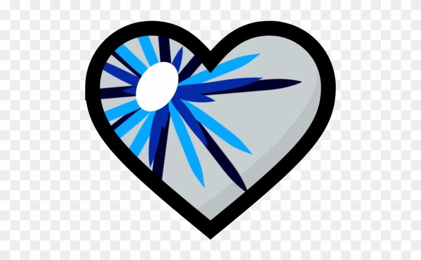 Blue Heart Clipart - Clip Art #98605