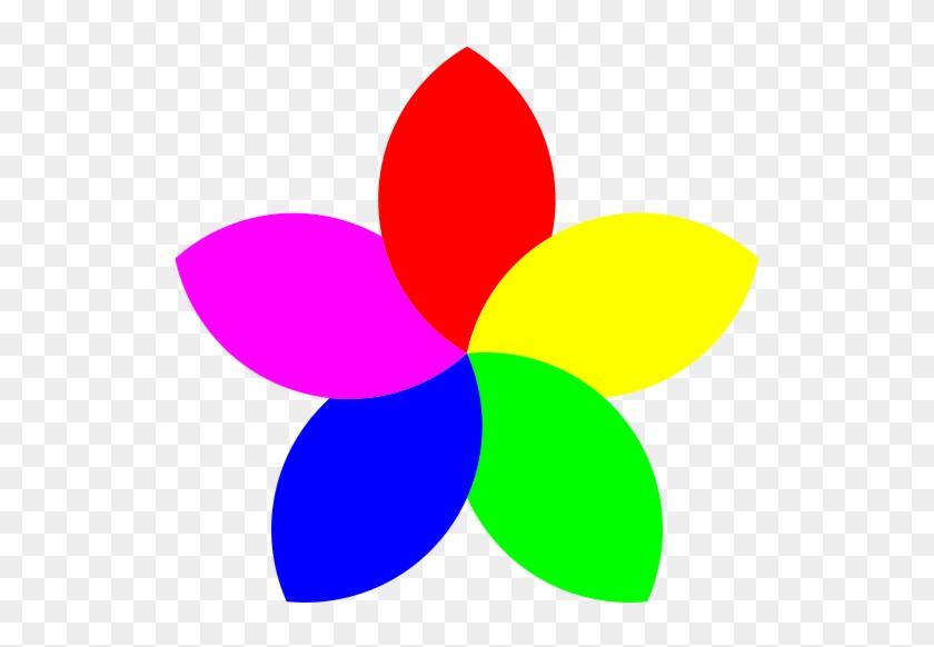 Football 5 Petal Flower Png Clip Arts - Flower With 5 Petals #98634